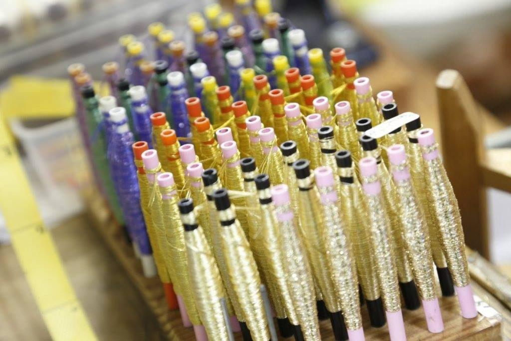 龍村美術織物生糸